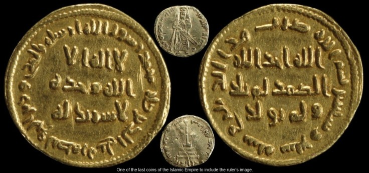 46 - Gold coin of Abd al-Malik