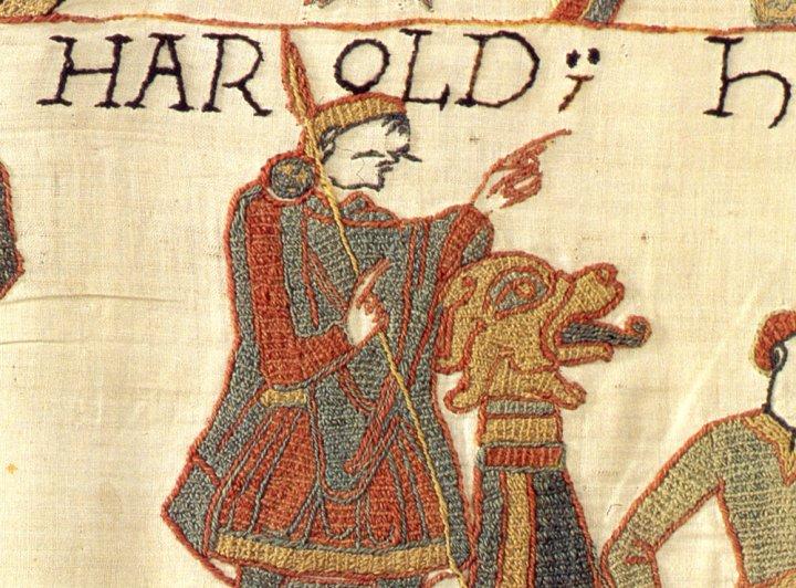 king-harold-ii-depicted-bayeux-tapestry-did-king-harold-really-die-battle-hastings