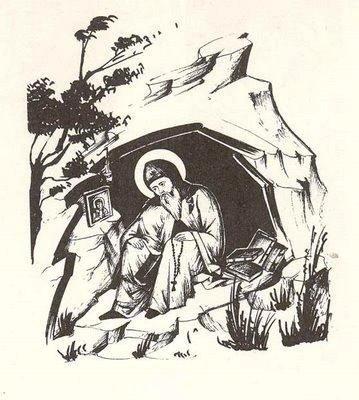 Ασκητής στο σπήλαιο