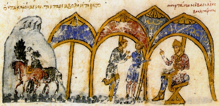 bulgarian_king_omurtag_sends_delegation_to_byzantine_emperor_michael_ii_from_the_chronicle_of_john_skylitzes