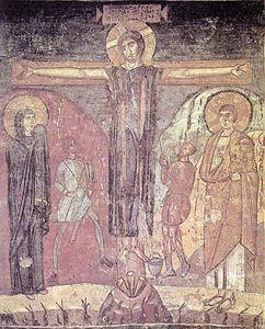 santa_maria_antiqua,_roma,_crocefissione,_effresco,_741-752