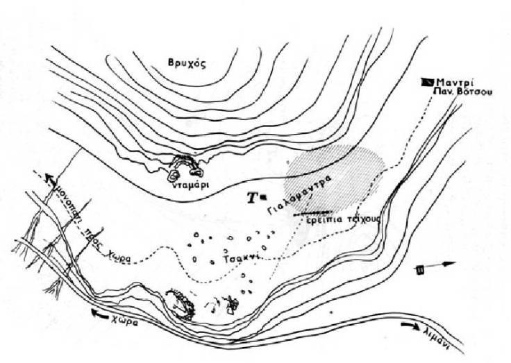 topografiko megalithon samothraki
