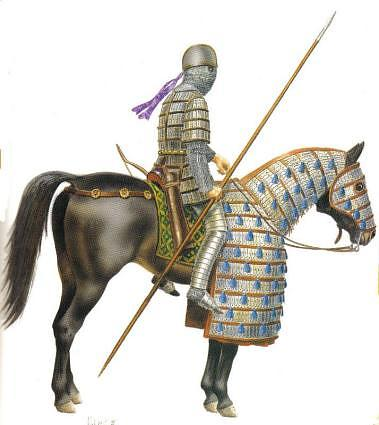 Byzantine Sannanian Persian Cavalry
