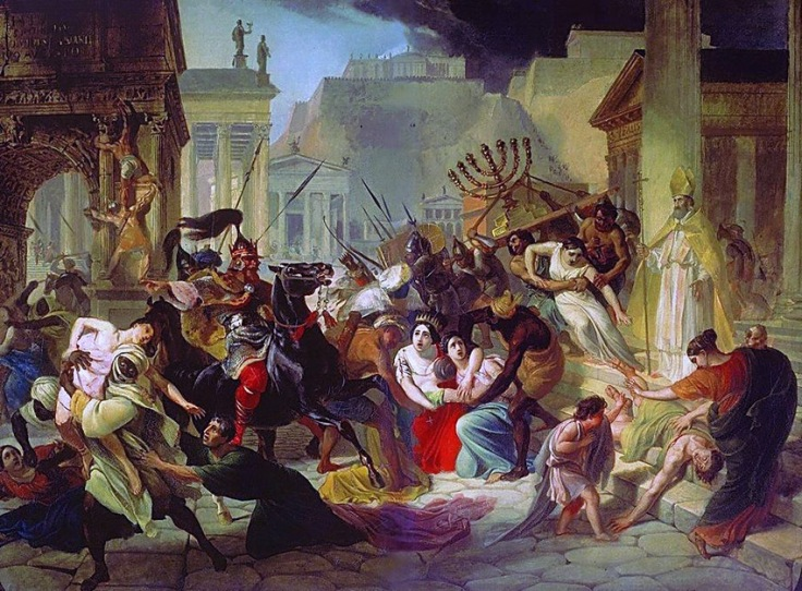 Sacking_Rome_455-by-painter-Karl-Briullov-19century