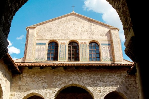 Byzantine Art. Croatia. Euphrasian Basilica. Byzantine church built in the sixth century