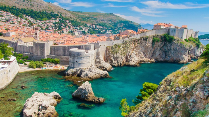 Dubrovnik-in-Croatia-Scenic-view-on-city-walls-iStock-Bertl123-www.istockphoto