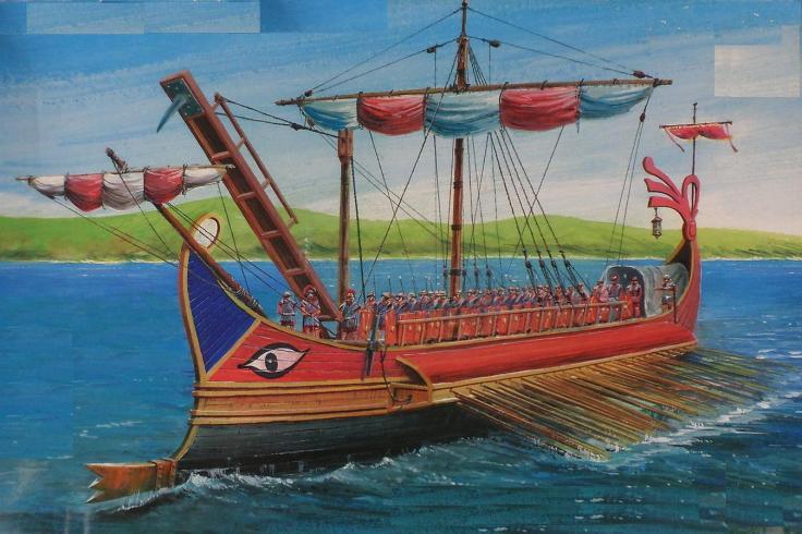 roman-trireme