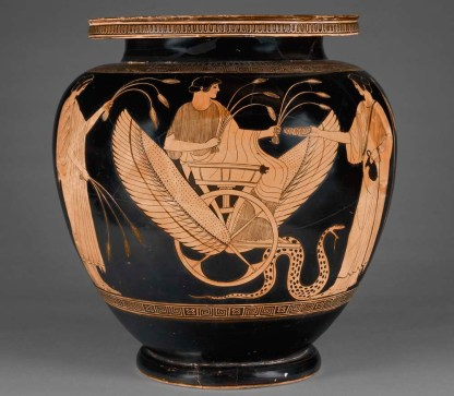 Mixing Vessel with Triptolemos