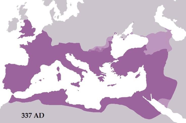 roman empire 337