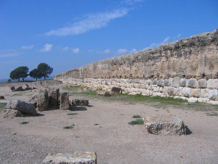 Roman wall at Empúries