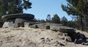 Dolmen da Orca with extant coverstones