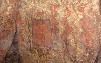 Painted chamber orthostat of Dolmen